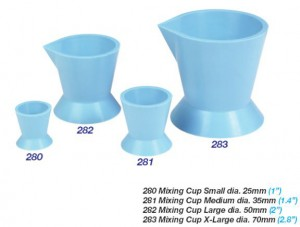 ACRYLIC MIXING CUPS