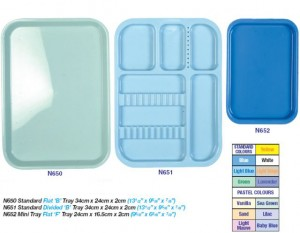 AUTOCLAVABLE PLASTIC TRAYS