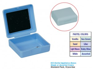 DENTAL APPLIANCE BOX