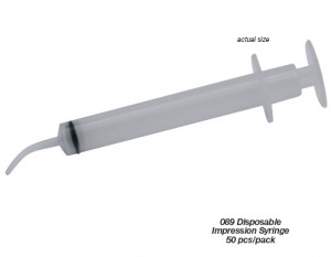 DISPOSABLE IMPRESSION SYRINGE